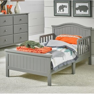 Fisher-Price Del Mar Convertible Toddler Bed Bed Frame Color: Stormy Gray