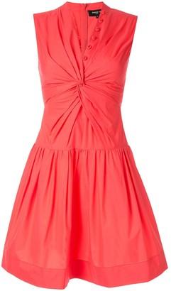Paule Ka sleeveless flared dress