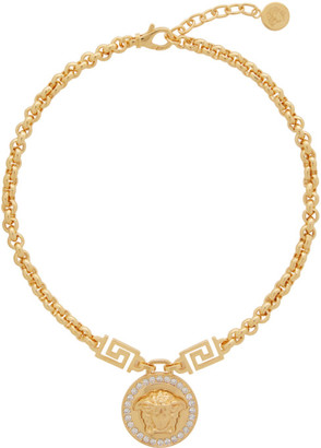 Versace Gold Icon Medusa Necklace