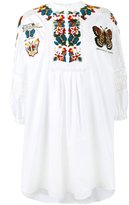 Valentino embroidered tunic dress