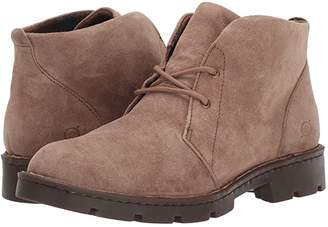 Børn Banni (Taupe Suede) Women's Lace-up Boots