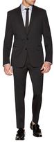 Versace Pintstripe Wool Notch Lapel Suit