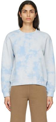 Raquel Allegra Blue Fleece Vintage Classic Sweatshirt