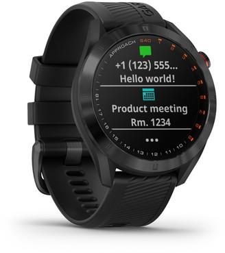 Garmin Approach S40 GPS Golf Smartwatch CT 10 Bundle