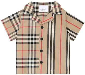 BURBERRY KIDS Baby Vintage Check cotton shirt