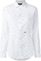 DSQUARED2 maple leaf shirt - women - Cotton - 40