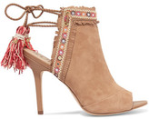 Sam Edelman Tasseled Suede Sandals