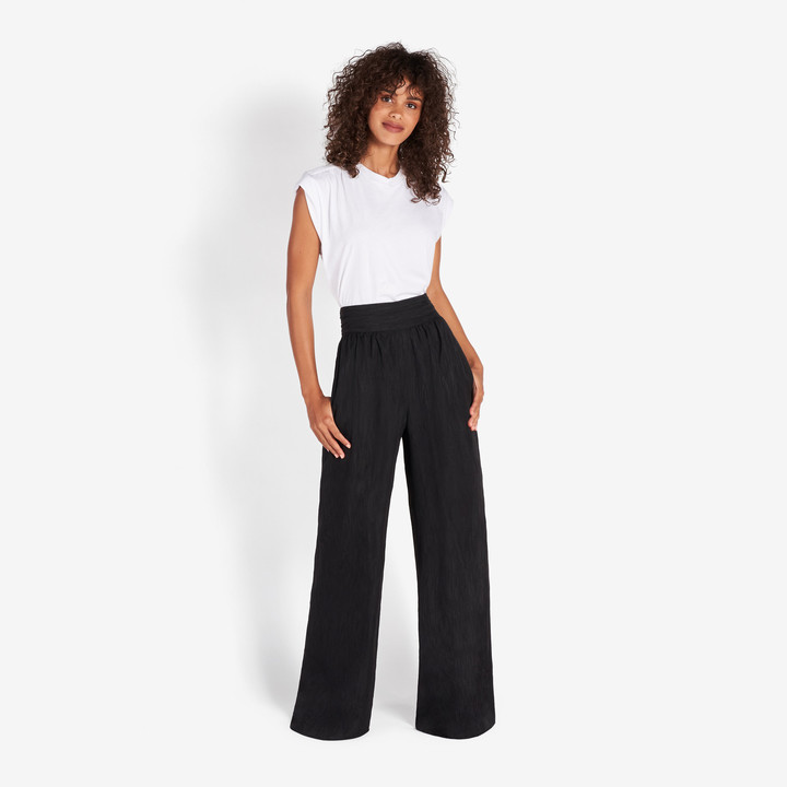 Rachel Zoe Devon Fil Coupe Wide Leg Pants