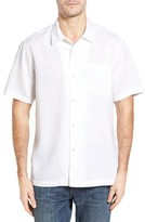 Tommy Bahama Men's Big & Tall Monaco Tides Linen Blend Camp Shirt
