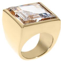 Michael Kors Golden Crystal Ring