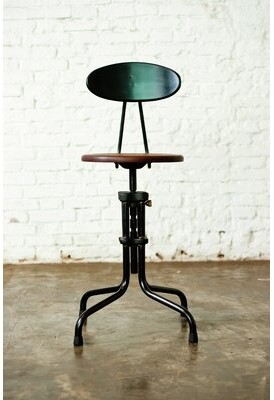 District Eight Design Adjustable Height Bar Stool District Eight Design