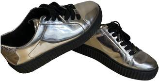 Michael Kors Silver Rubber Trainers