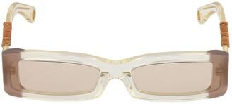 Jacquemus Les Lunettes 97 Squared Sunglasses
