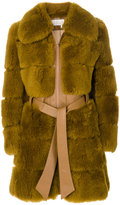 Chloé - manteau en fourrure d'agneau