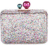 Sophia Webster Glitter Box Clutch