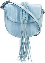 Altuzarra Ghianda knot saddle bag - women - Eel Skin - One Size
