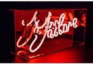 Locomocean 'J'Adore' Acrylic Box Neon