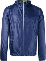 fe-fe tropical print reversible jacket