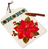 Hallmark Poinsettia Cutting Board