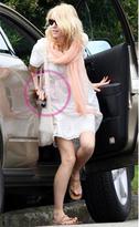 Lovequotes Papaya Scarf as seen on Naomi Watts