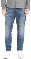 G Star '3301' Slouchy Slim Fit Jeans (Dark Aged Restored)