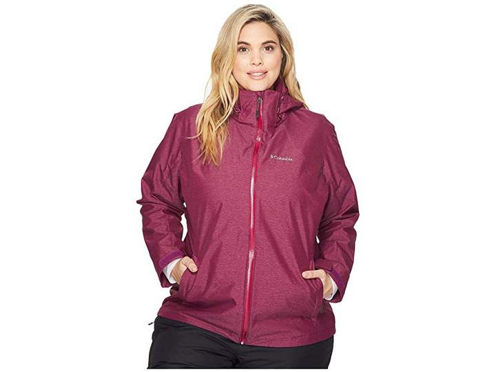 Columbia Plus Size Whirlibirdtm Interchange Jacket Women's Coat