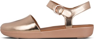 FitFlop Cova Metallic Closed-Toe Sandals