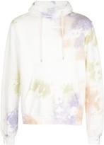 John Elliott watercolour print hoodie