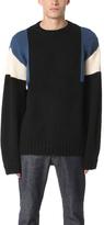 Patrik Ervell Colorblock Knit Sweater