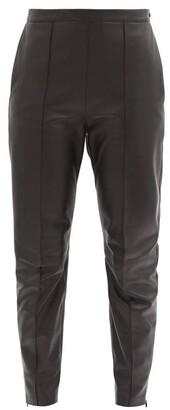 Isabel Marant Bleeta Tapered Leather Trousers - Black