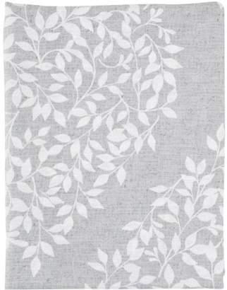 Mainstays? Leaf Medallion Grey Fabric Shower Curtain