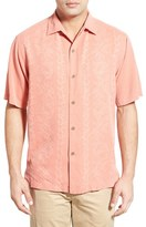 Tommy Bahama Men's 'Lei Riviera Jacquard' Regular Fit Silk Camp Shirt