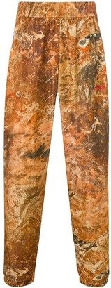 Heron Preston Camouflage Print Track Trousers