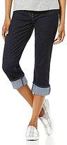 Levi's Capri Cuffed Denim Jeans