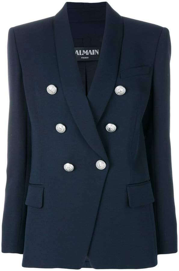 Balmain button detail blazer