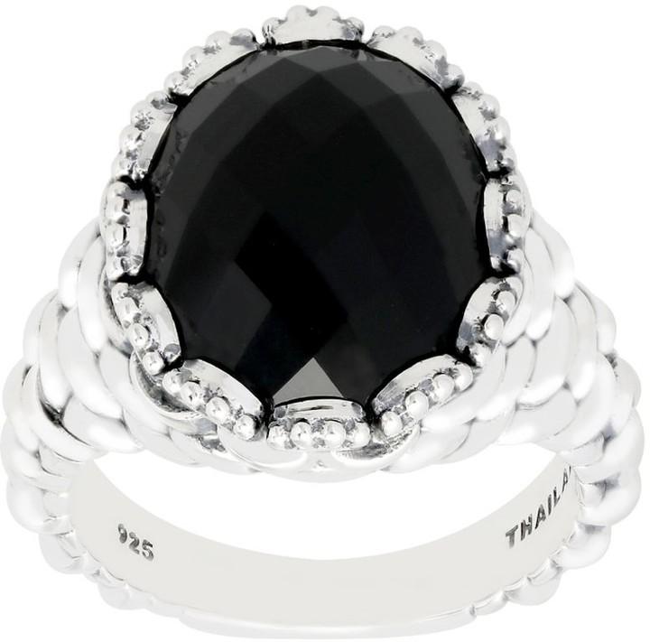5eb3b7feb51ad Kay Studio Sterling Textured Gemstone Ring