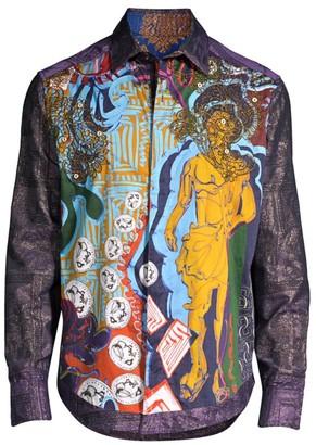 Robert Graham Limited Edition Baroque Graphic Shirt