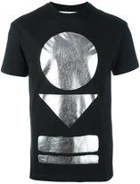 McQ by Alexander McQueen metallic print T-shirt