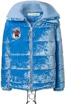 Off-White Velour Puffer Jacket