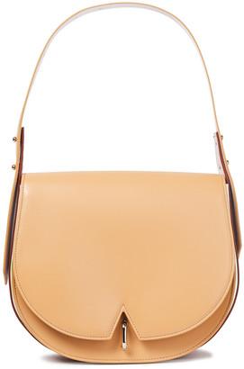 Sara Battaglia Color-block Leather Shoulder Bag