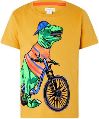 Monsoon Rex Dinosaur T-shirt Yellow