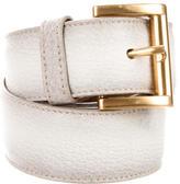 Prada Leather Buckle Waist Belt w/ Tags