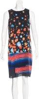 Suno Sleeveless Printed Dress