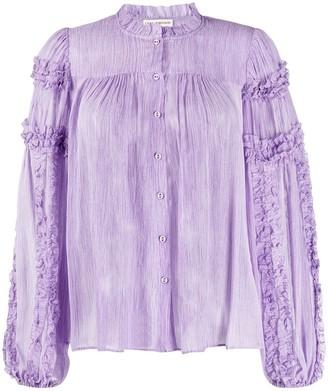 Ulla Johnson Mari crinkled blouse