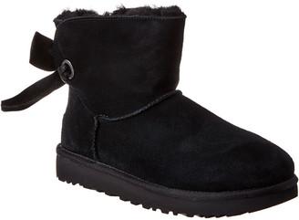 UGG Women's Customizable Bailey Bow Mini Suede Boot