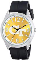Game Time Men's COL-VAR-GT Varsity Analog Display Japanese Quartz Black Watch