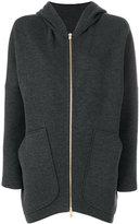 Odeeh zipper hoodie