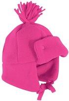Jo-Jo JoJo Maman Bebe Polarfleece Pom-Pom Hat (Baby) - Raspberry-0-12 Months