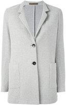 Eleventy slim-fitting single breasted blazer