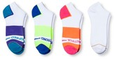 All Pro® Women's 3+1 Bonus Pack Full Cushion No Show with Odor Control with Message Athletic Socks - 4-10